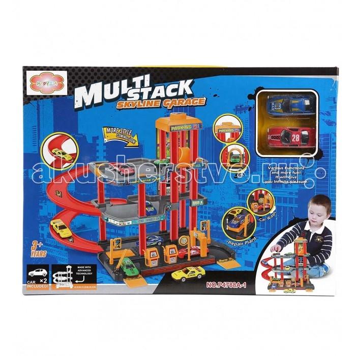 Машины Игруша Парковка I-1089195 игровые наборы игруша касса