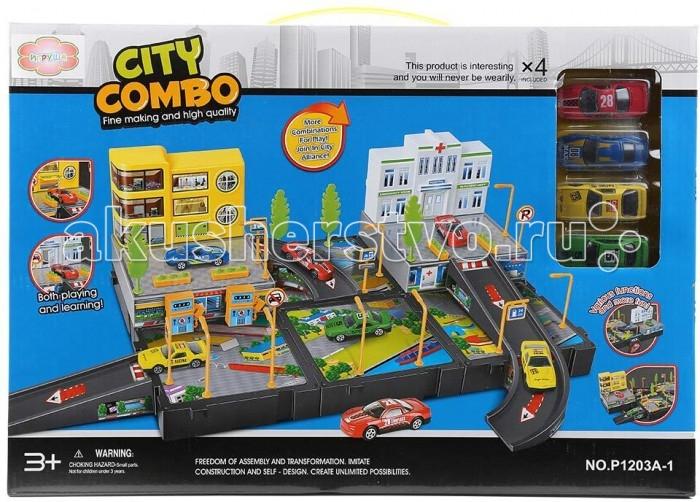 Машины Игруша Парковка I-1088956-1 игруша i 599623