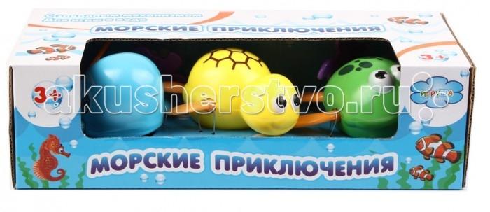 Игрушки для ванны Игруша Набор заводных игрушек для ванны I3360 игрушки для ванны tolo toys набор ведерок квадратные