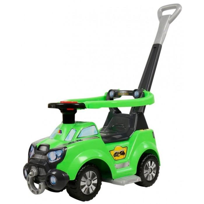 Каталка Molto Sokol многофункциональнаяSokol многофункциональнаяУдобная каталка Sokol от торговой марки Полесье станет отличным подарком для малыша возрастом от 9-12 месяцев. Изделие выполнено из качественного пластика, безопасного для здоровья ребенка. Каталка изготовлена в виде яркого гоночного автомобиля. Руль оборудован клаксоном и может поворачиваться, что вызовет восторг маленького автомобилиста.  4 различных способа сборки, для каждого возраста и каждого случая: качалка, ходунки качели, автомобиль-каталка и игровой центр. Специальная подставка позволит использовать машинку в качестве качалки. Каталка оборудована багажником под сиденьем, в который ваш малыш сможет сложить необходимые ему вещи. Съемная подножка и защитный барьер обеспечат крохе комфорт во время прогулок.   Длинная родительская ручка отсоединяется, что позволит малышу самостоятельно катить свой автомобиль, опираясь на спинку сиденья. Замечательная каталка станет отличным подарком для вашего ребенка, он непременно полюбит свой первый транспорт.<br>