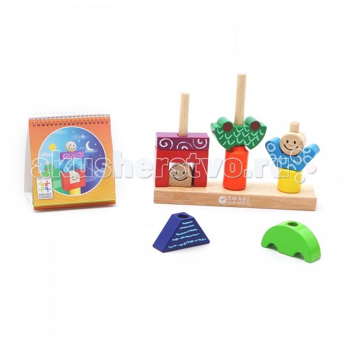 Купить Развивающие игрушки, Развивающая игрушка Bondibon Логическая игра День и Ночь