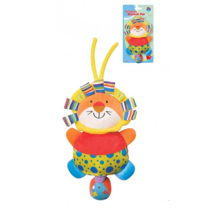 Подвесные игрушки Parkfield музыкальная Львенок велюровый костюм