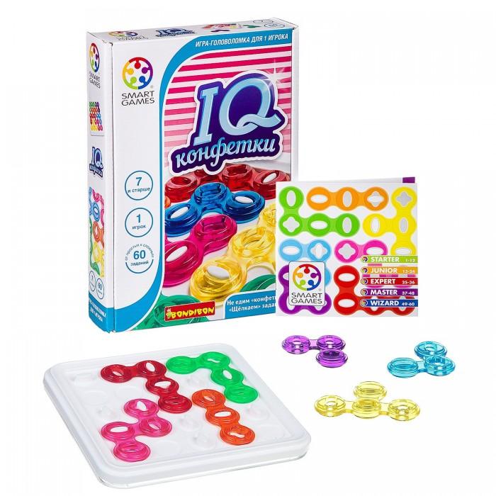 Настольные игры Bondibon Логическая игра IQ-Конфетки настольные игры bondibon логическая игра iq элемент