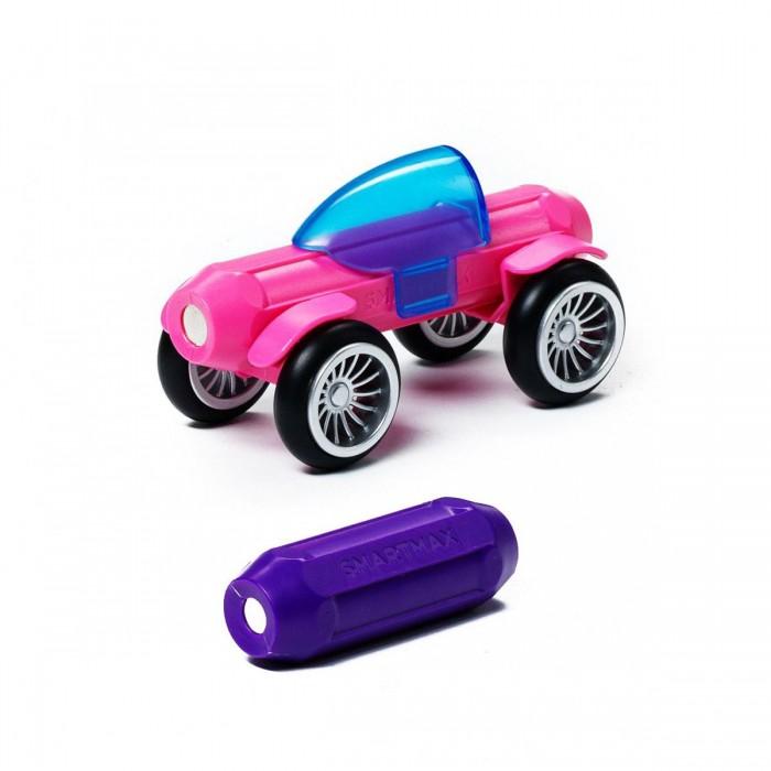 Картинка для Конструкторы Bondibon Специальный (Special) магнитный SmartMax набор: Розовый и Фиолетовый