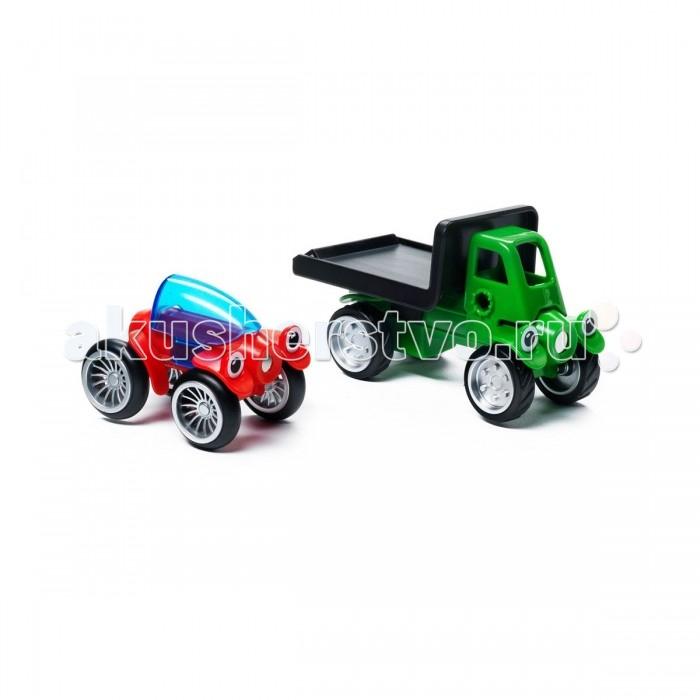 Машины Bondibon Специальный (Special) магнитный SmartMax набор: Роб и Ринго