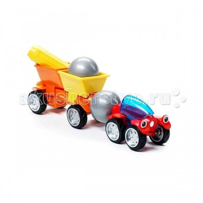 Машины Bondibon Специальный (Special) магнитный SmartMax набор: Трейлер Томми