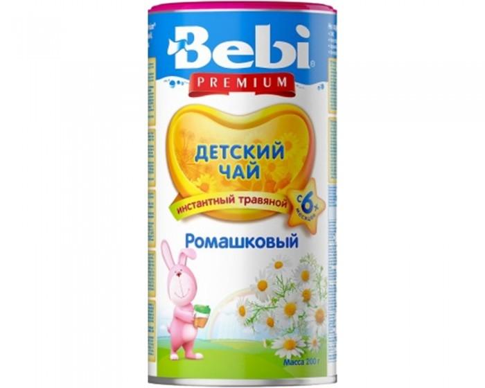 Чай Bebi Детский чай Premium ромашковый с 6 мес. 200 г hipp чай органический детский ромашковый с 1 мес 30 г 20 шт
