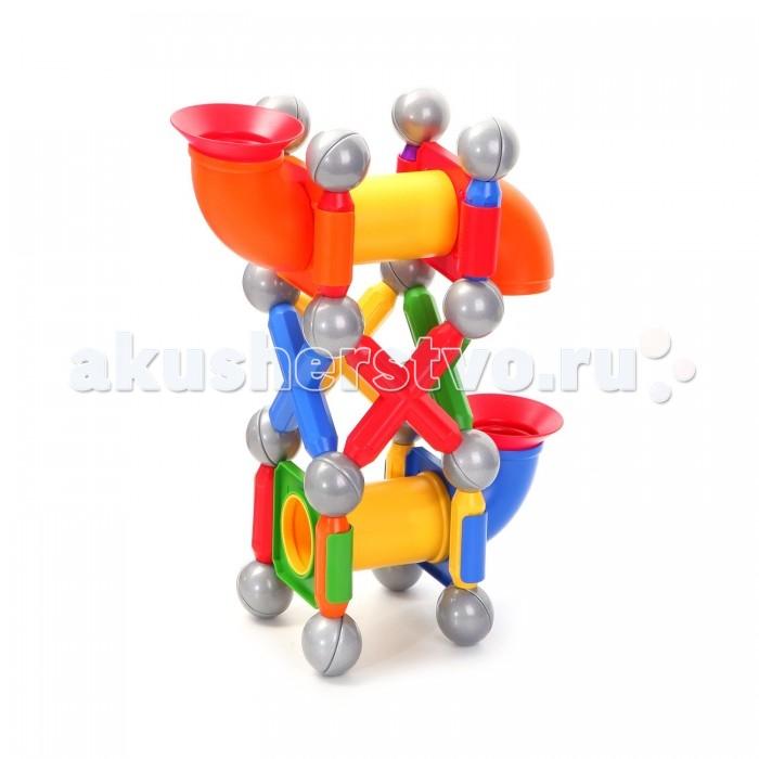 Конструктор Bondibon Магнитный набор SmartMax: Детская площадкаМагнитный набор SmartMax: Детская площадкаМагнитный конструктор SmartMax/ набор: Детская площадка.  Увлекаться игрой воображения и получать от этого сто процентов удовольствия – вот задача такого конструктора!   Такой конструктор не только будет развлекать вашего малыша игрой, освобождая надолго вас от его требовательного внимания, но и познакомит вашего почемучку с принципом действия магнитов, и позволит собрать интересные модели, что не сможет не удивить родителей!   Детали во всех наборах крупные и легкие, поэтому они прекрасно подходят для малышей. Палочки имеют оболочку, сделанную из высококачественной пластмассы, и сердцевину – достаточно сильный магнит.   Магниты держатся внутри деталей очень прочно, и выпадение их во время игры исключено.<br>