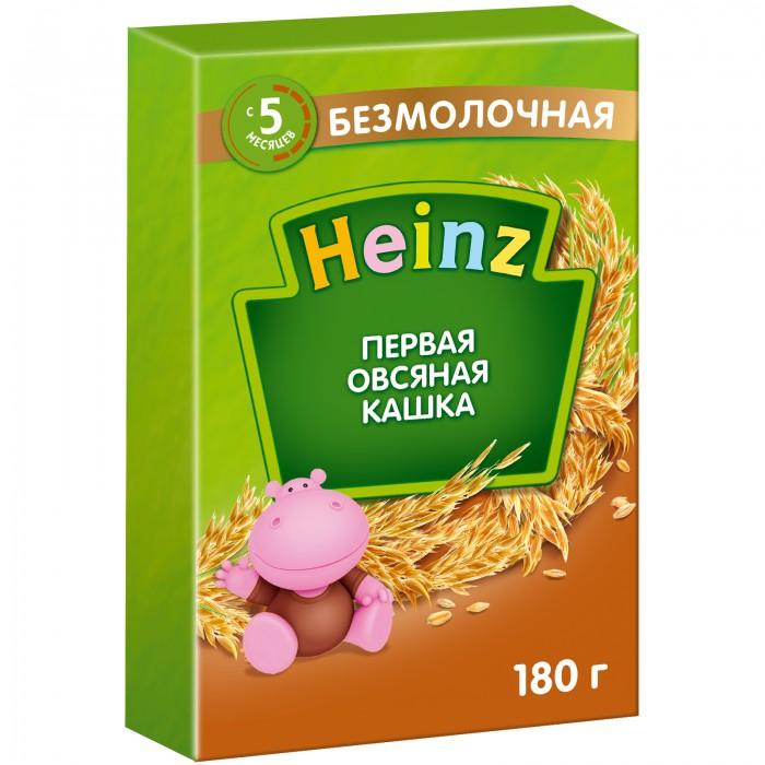 Каши Heinz Безмолочная Первая овсяная каша с пребиотиками с 5 мес. 180 г оливки чёрные pikarome с косточкой в рассоле 3 2 кг