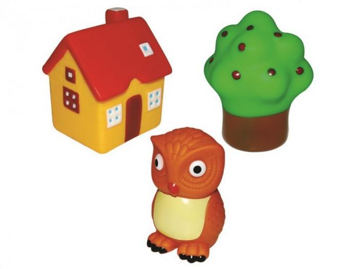 Игрушки для ванны ПОМА Набор для ванны Лесной домик 3 шт. игрушки для ванны red box набор заводные водяные игрушки 3 шт