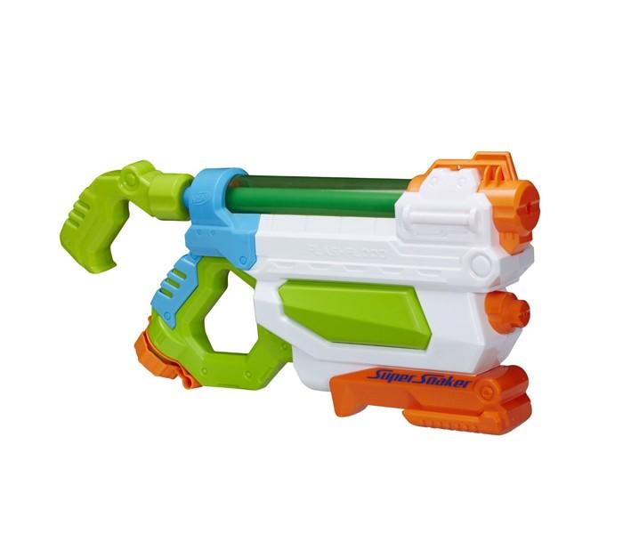 Игрушечное оружие Nerf Hasbro Бластер Супер Сокер Потоп оружие игрушечное hasbro nerf бластер зомби слингфайр