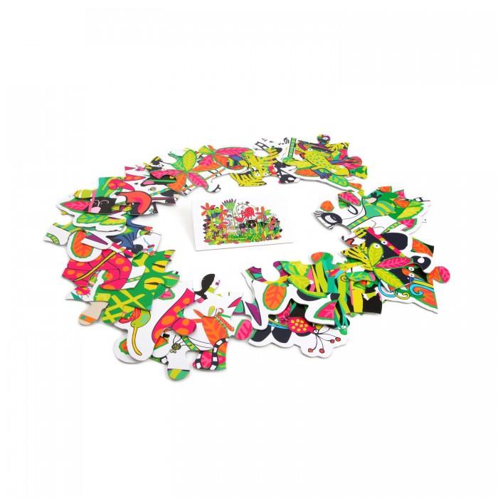Bondibon Настольная игра-головоломка Пазлы гигант Дикая Амазония 28 элементов
