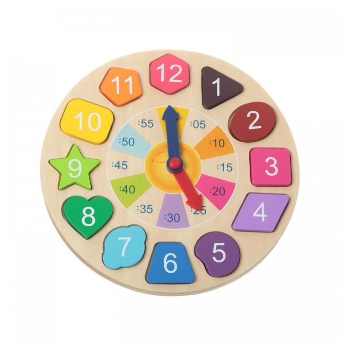 Игры для малышей Bondibon Настольная игра Чудо-часики головоломка bondibon антивирус мутация вв1888 sg 435 ru