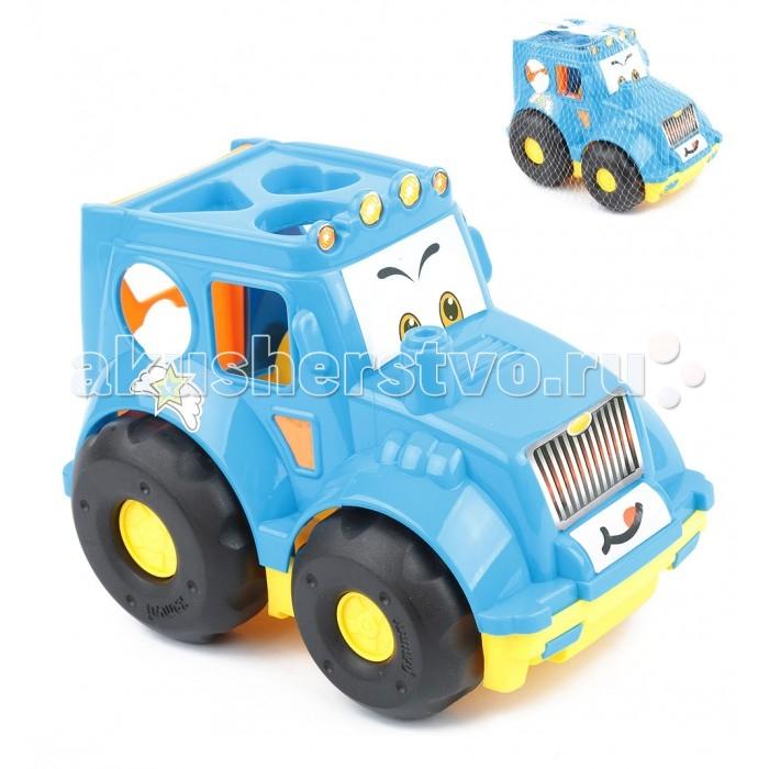 Каталки-игрушки Игруша Машинка-сортер i-22086 каталки игрушки игруша машинка сортер i 22086