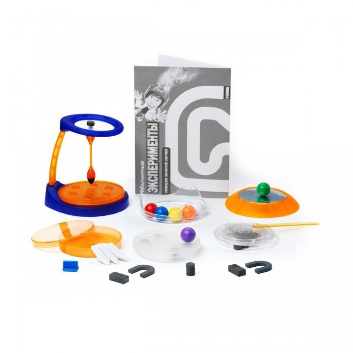 Наборы для творчества Bondibon Французские опыты Науки с Буки (12 экспериментов) Магнитные эксперименты