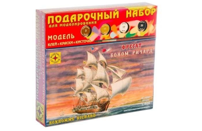 Моделист Модель Подарочный набор Корабль фрегат Боном Ричард от Моделист