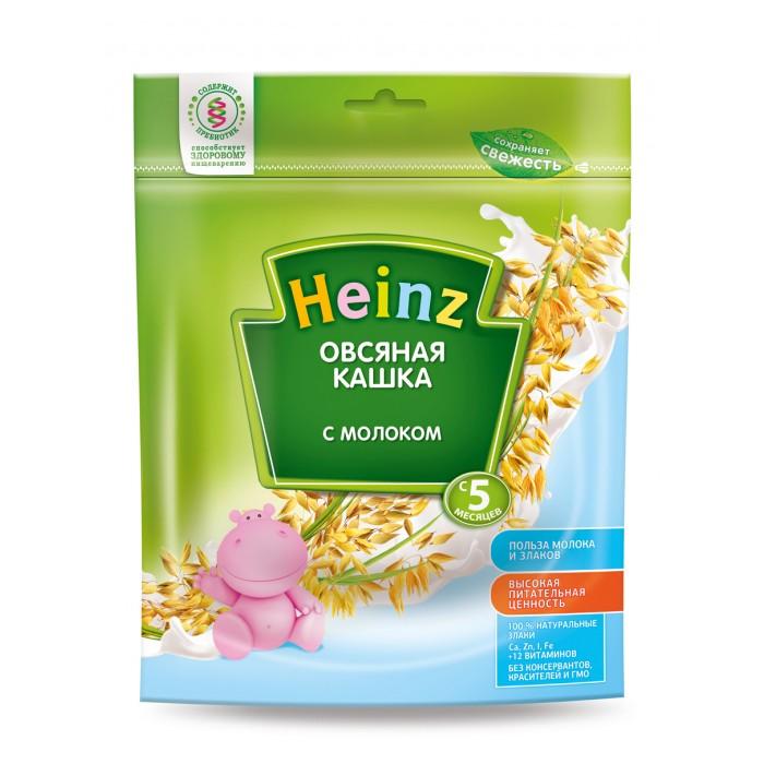 Каши Heinz Молочная Овсяная каша с 5 мес. 250 г хайнц кашка овсяная с молоком с 5 мес 250г