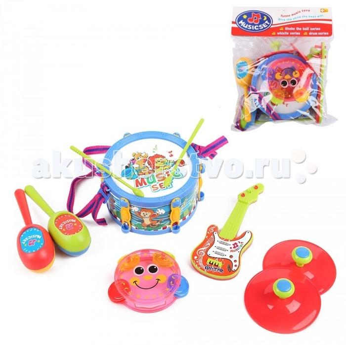 Музыкальные игрушки Игруша Набор музыкальных инструментов I-983993 автотрек игруша i 68806