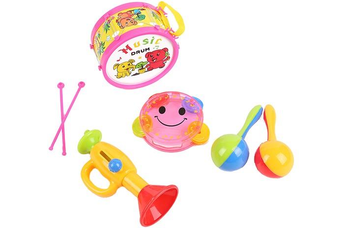 zhorya набор музыкальных инструментов Музыкальные игрушки Игруша Набор музыкальных инструментов I-696192
