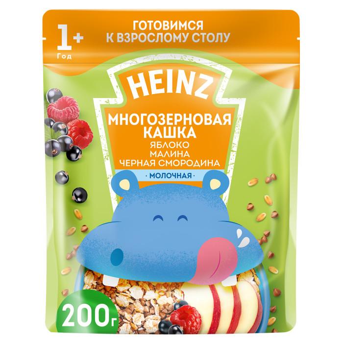 где купить Каши Heinz Молочная Многозерновая каша Яблоко, малина, черная смородина с 1 года 200 г по лучшей цене
