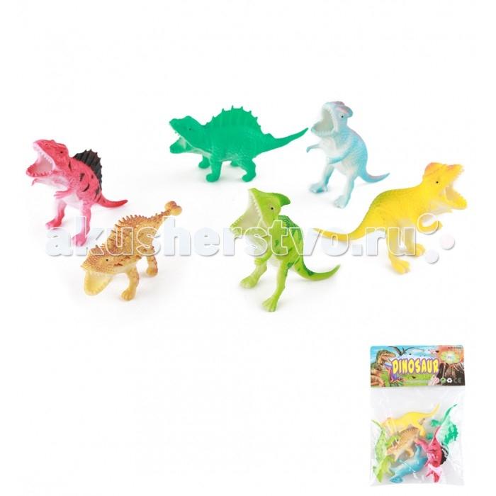 Игровые фигурки Игруша Набор Динозавры i-d836-1 набор 4m 00 03514 фигурки из формочки динозавры