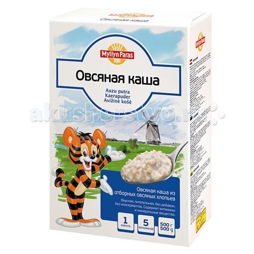 Каши Myllyn Paras Безмолочная Овсяная каша 500 г минеральные добавки серии северянка в москве