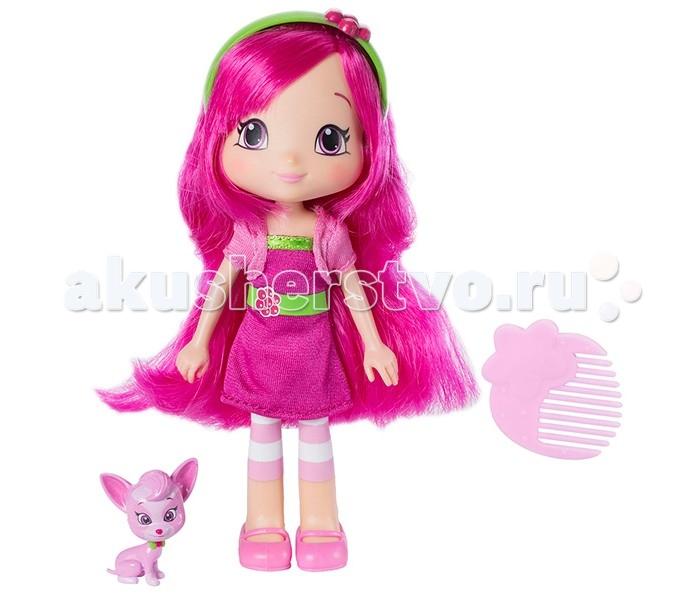 Куклы и одежда для кукол Strawberry Shortcake Кукла Малинка 15 см с питомцем детские фартуки action набор фартук для детского творчества strawberry shortcake
