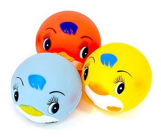 Игрушки для ванны Курносики Игрушка для ванной Мячики-пингвины для ванной