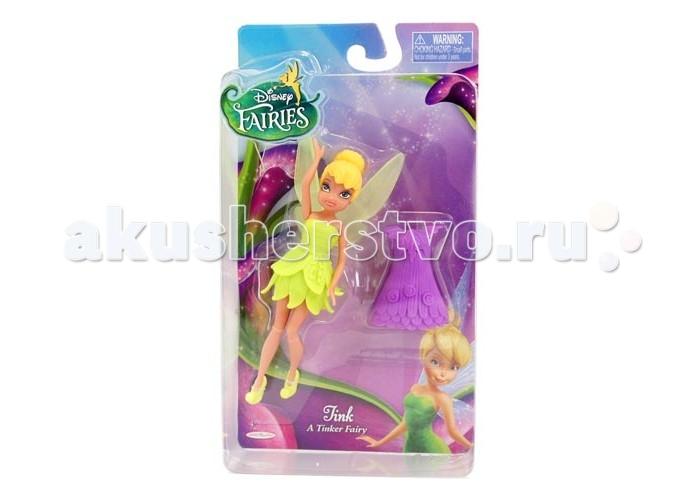 Игровые наборы Disney Fairies Кукла Фея 11 см с дополнительным платьем disney fairies дисней фея набор из 2 кукол с акс