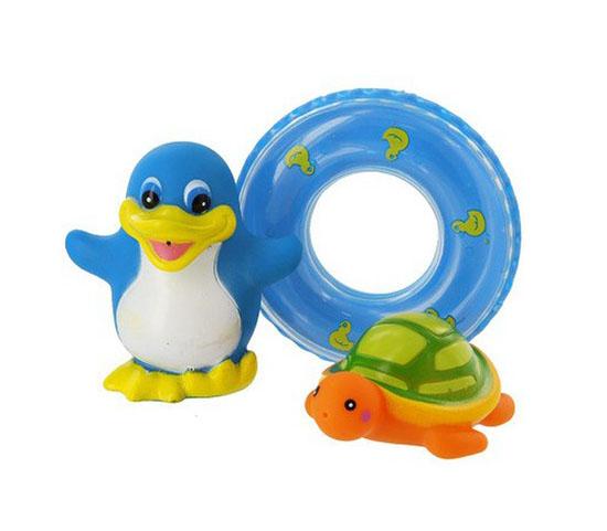 Игрушки для ванны Курносики Набор игрушек для ванной Веселое купание
