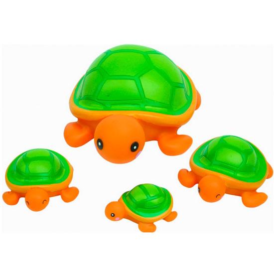 Игрушки для ванны Курносики Игрушка для ванной Семейка черепашки игрушки для ванной