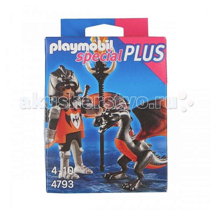 Конструкторы Playmobil Экстра-набор: Рыцарь с Драконом playmobil® экстра набор рыцарь с драконом playmobil