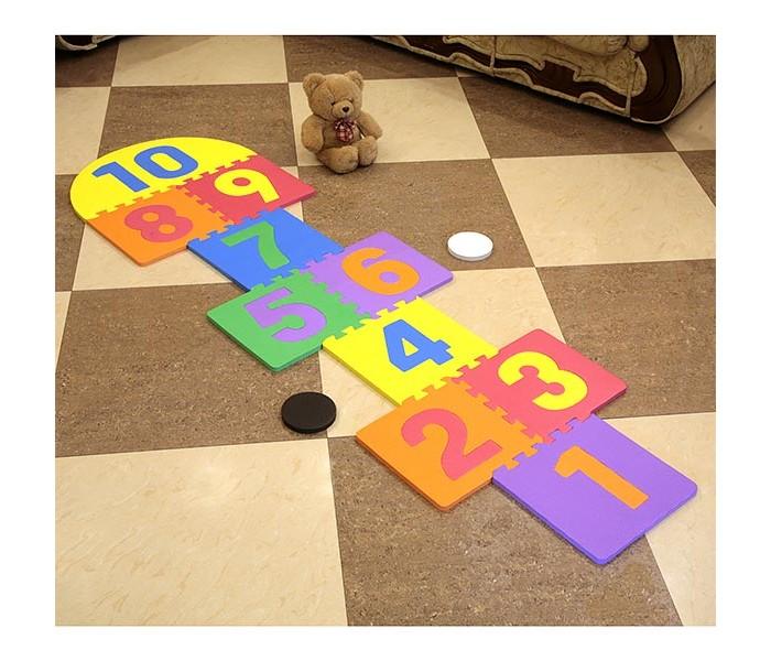 Игровые коврики FunKids Классики-1 с цифрами 12 KB-103A игровые коврики funkids алфавит 1 kb 007r nt