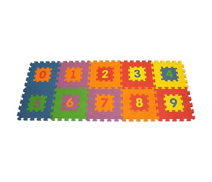 Игровые коврики FunKids Цифры-1 12 KB-019 игровые коврики funkids алфавит 1 kb 007r nt