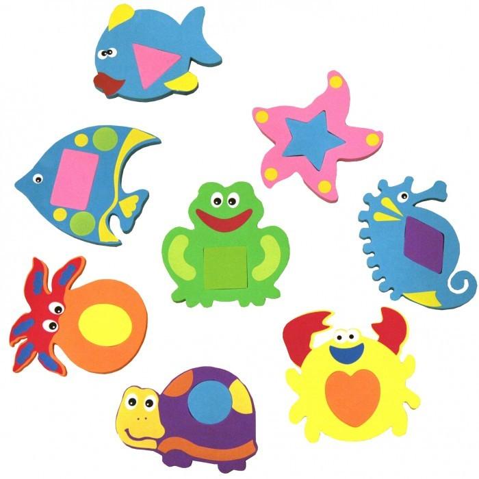 Игрушки для ванны FunKids Набор игрушек для купания WaterFun игрушки для ванны tolo toys набор ведерок квадратные