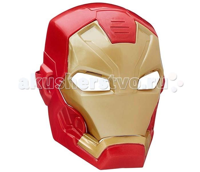 Avengers Электронная маска Железного человекаЭлектронная маска Железного человекаС электронной маской Железного человека Avengers ребенок сможет почувствовать себя частью вселенной Marvel - настоящим супергероем, грозным и бесстрашным!   Маска выполнена из качественной пластмассы и тщательно детализирована, выглядит очень ярко и эффектно. Длина ремешка регулируется, поэтому маска подойдет не только детям, но и взрослым поклонникам Мстителей.   При открытии забрала у игрушки срабатывают световые и звуковые эффекты, благодаря чему игра становится еще более интересной и увлекательной. Игрушка работает от 2 батареек ААА, которые включены в комплект.  Железный человек - супергерой, сила которого заключена в его уникальном костюме, а маска скрывает его лицо от людей.<br>