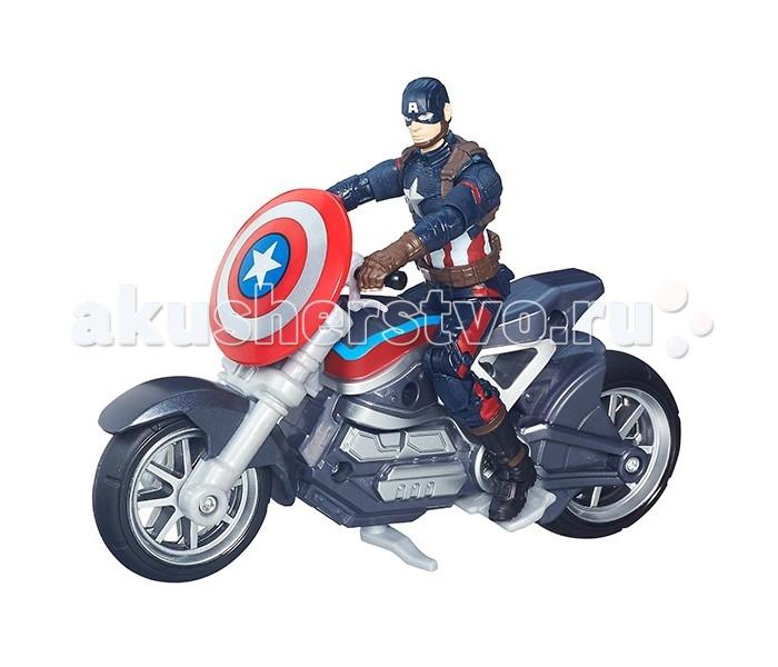 Avengers Коллекционный набор МстителейКоллекционный набор МстителейКоллекционный набор, включающий фигурку Первого Мстителя (Капитана Америки) и его транспортное средство, превосходный подарок для всех любителей супергеройских боевиков производства Marvel Studios, мультфильмов и комиксов о супергероях.   Игровой набор отличается просто потрясающей, тончайшей детализацией, благодаря которой он будет высоко оценен не только юным поклонником героев Марвел, но и вполне взрослым человеком, увлекающимся коллекционированием. Фигурка имеет несколько точек артикуляции, выполнена из пластика.   Благодаря функциональным элементам набора, игрушка может представлять не только коллекционный, но и игровой интерес. Так, например, Вы можете посадить фигурку Капитана Америки на его мотоцикл и прикрепить щит к рулю транспортного средства или же играть с элементами набора по-отдельности.  Смотрите новый фильм о приключениях героев Марвел «Капитан Америка: Гражданская война» (Captain America: Civil War) и разыгрывайте собственные сражения с игрушками, созданными по мотивам фильма из серии Avengers от всемирно известной компании Хасбро!<br>