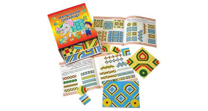 Игры для малышей Корвет Маленький дизайнер учебно-игровое пособие игры для малышей mertens игра маленький крот 13732