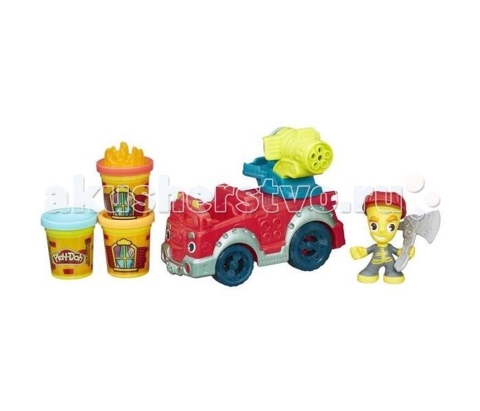 Всё для лепки Play-Doh Hasbro Игровой набор Пожарная машина наборы для лепки play doh игровой набор сумасшедшие прически