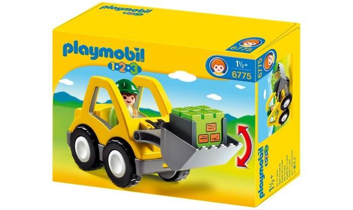 Конструкторы Playmobil 1.2.3.: Экскаватор playmobil спасатели с носилками