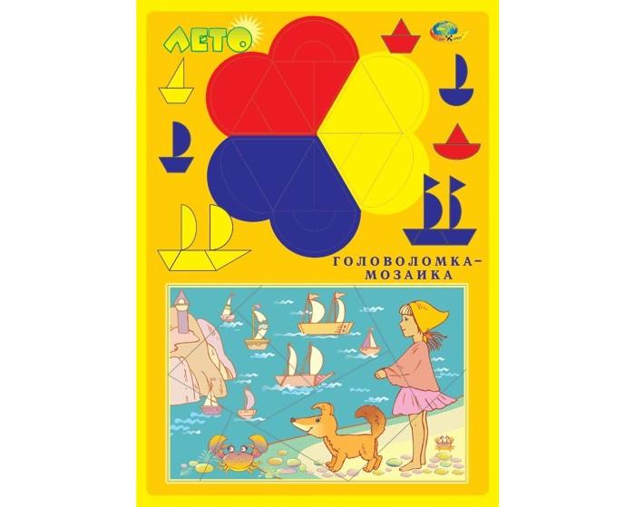 Игры для малышей Корвет Лето Головоломка-мозаика игры для малышей корвет удивляйка 4 теремок