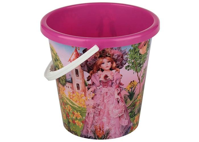Игрушки для зимы Альтернатива (Башпласт) Ведро Сказочная страна 1.5 л пластиковая мебель альтернатива башпласт кресло детское принцесса