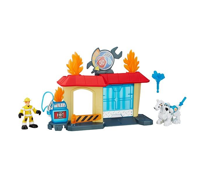 Игровые наборы Playskool Transformers Игровой набор Спасатели игровые наборы tomy игровой набор приключения трактора джонни и лошади на ферме