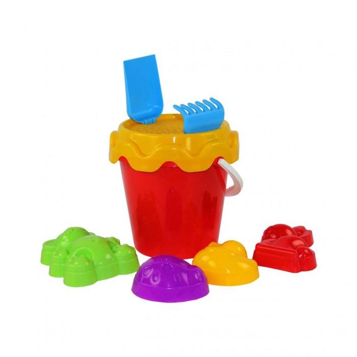 Игрушки в песочницу Альтернатива (Башпласт) Набор для игры с песком Зоопарк №1 игрушки в песочницу happy baby набор для игр с песком pie