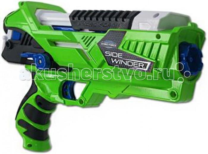 Игрушечное оружие Hydro Force Водное оружие со съемным картриджем на 300 мл Side Winder водное оружие hydro force side winder с картриджем на 300 мл