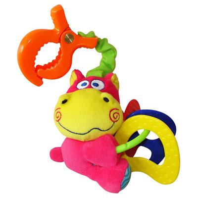 Подвесные игрушки Мир детства Мини-подвеска Бегемотик вибрирующая игрушка мир детства бегемотик