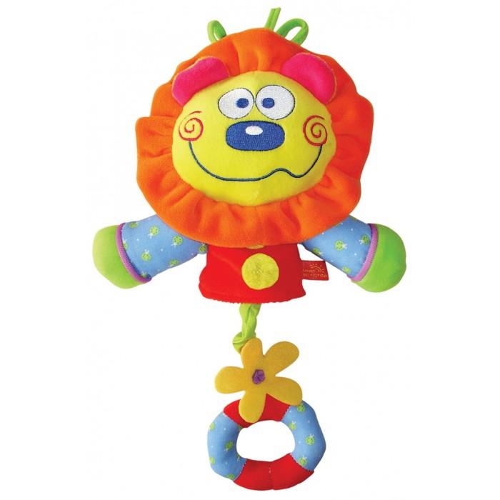 Подвесные игрушки Мир детства Львенок музыкальный фиксатор двери мир детства мишка