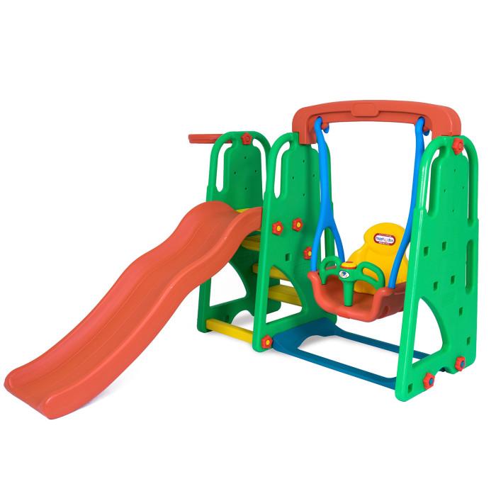 Игровые комплексы Happy Box горка-волна, качели и музыкальная панель игровые комплексы happy box игровой комплекс с качелями и музыкальной панелью