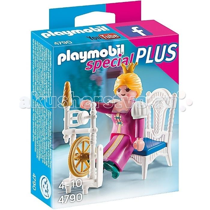 Конструкторы Playmobil Экстра-набор: Принцесса с прялкой playmobil принцессы луна с лошадкой