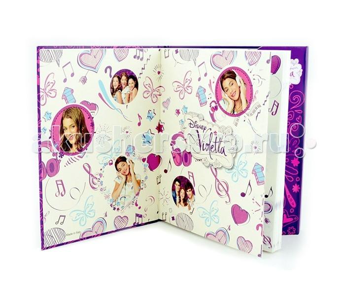 Наборы для творчества Disney Violetta Дневник с магнитным замком б д сурис фронтовой дневник дневник рассказы
